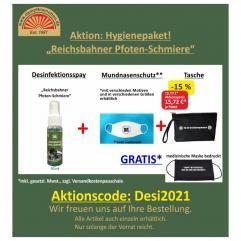 Hygienepaket Reichsbahner Pfoten-Schmiere