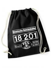 """Eventrucksack mit Aufdruck """"18 201"""""""